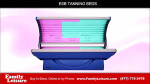 Sunquest Tanning Bed Bulbs by Esb Tanning Bed Avalon 24 Family Leisure Youtube