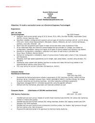 Electrical Engineering Cv Sample 6