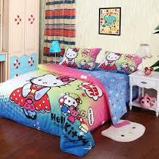 chambre fille hello décoration chambre fille linge de lit sur le thème hello