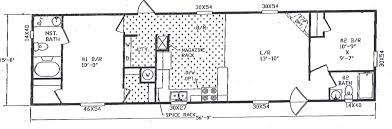 14x40 Cabin Floor Plans by Option Of Single Wide Mobile Home Trends With 4 Bedroom Floor