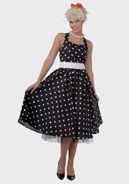 50s black and white polka dot dress naf dresses