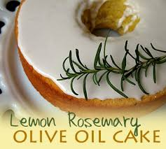When I Posted On Facebook That Was Baking A Lemon Rosemary Olive Oil Cake Someone Commented And Said Yuk Ha Sounds Little Odd Suppose