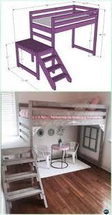 diy bunk beds tutorials and plans bunk bed tutorials and room