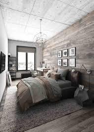 Industrial Interior Ideas Cool Rustic Bedroom Decor Design Chic Diy Headboard