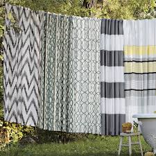 Yellow And White Chevron Curtains by Chevron Shower Curtains Interior Design