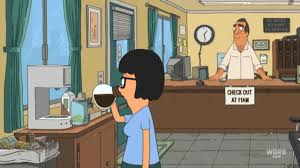 Remember That Episode Where Tina Loved Coffee Like Really The Only Difference She Would Settle For Motel Lobby Instead Of Starbucks