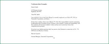 13 Employment Verification Letter for Loan