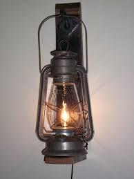log cabin kitchen lighting ideas rustic electric lantern wall