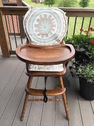 100 Make A High Chair Cover Wooden Chair CushionPad Etsy