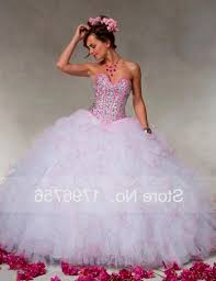 white and pink quinceanera dresses with diamonds naf dresses