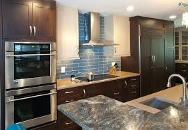 glass tile kitchen moute