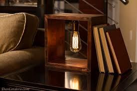 edison bulb table l edison light bulb l modern farmhouse
