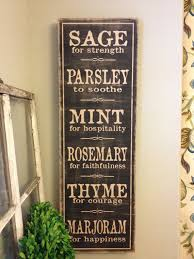 Kitchen Wall Art For Rustic