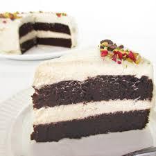 schokoladenkuchen mit vanille creme vegan glutenfrei ohne kristallzucker