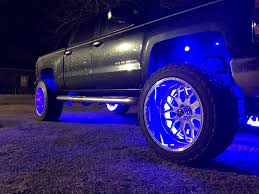 100 Lights For Trucks ColorChasing Wheel Ring RGB LED Kit Flow Series