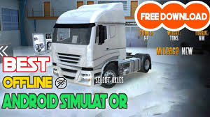 100 Truck Driving Simulator Free Euro Driver Android Game Apk Obb Download