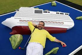 Cruise Ship Sinking Now by Video See York U0027s Crazy New Golf Course In Action Featuring A