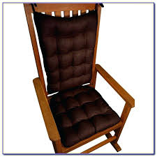 Rocking Chair Cushion Sets Uk by Kitchen Chair Cushions Chocolate Tufted Embrace Kitchen Chair