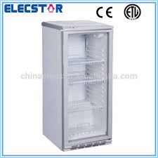 118l Small Single Glass Door Display Cooler Commercial Beverage Fridge Chiller ShowcaseWith Slim LineWith Ce Etl