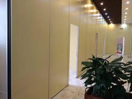 100 Interior Sliding Walls Melamine Surface Door Wall Track MDF Movable