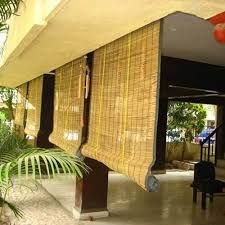 Exterior Bamboo Blinds at Rs 45 square feet