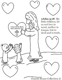 Free Coloring Jesus Loves Me Pages Printables In Page