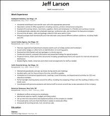 Receptionist Resume Example Objective Summary Of Qualification