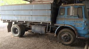 Bedford Truck With Grain Bin. | Trucks & Trailers - Farm Trucks