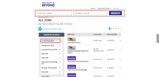 Bed Bath Beyond Pasadena by How To Apply For Bed Bath And Beyond Jobs Online At