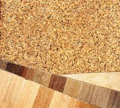 New Oak Parquet And Cork Flooring Texture Stock Photo Picture And