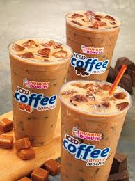 Iced Coffee How Much Is Dunkin Donuts Drinker 1 Peppermint Mocha