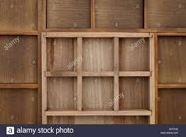 Empty Wooden Box Texture Background
