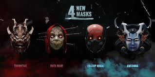 Payday 2 Halloween Masks Disappear by Payday 2 Update 130 Shadow Warrior Collaboration Overkill Software