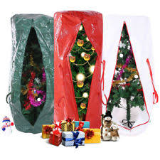 Christmas Tree Storage Bag Upright Deluxe Heavy Duty Holiday Up To 9 Ft Trees