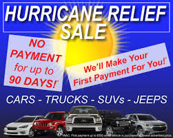 100 Cars And Trucks Llc HURRICANE RELIEF SALE Car Direct LLC