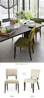 crate and barrel cody dining chair copycatchic