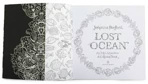 Runner Up Johanna Basfords Lost Ocean An Inky Adventure And Coloring Book For Adults