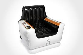 Star Trek Captains Chair by Star Trek Inflatable Captain U0027s Chair Mikeshouts