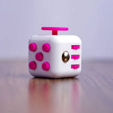 2017 Trending Wholesale 3D Magic Full Color Fidget Cube With High Quality