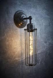 school electric industrial glass wall light bedroom lights