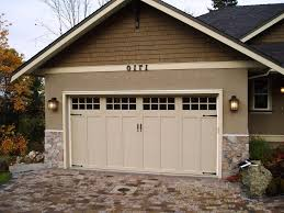 craftsman style garage traditional with design transitional