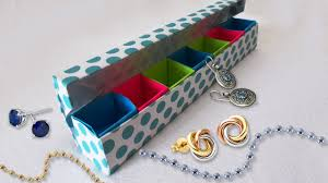 DIY Paper Crafts Origami Jewelery Box Tutorial