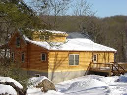 Pocono bachelor party vacation rental Poconos Log Cabin White