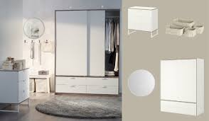 Ikea Trysil Chest Of Drawers by Trysil Wardrobe With Sliding Doors Drawers And Chest Of Drawers