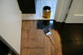 how to stain and seal hardwood floors archives diy show off