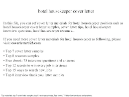 Sample Hotel Housekeeping Resume Cover Letter For Housekeeper Hospital Unforgettable Caregivers Companions Job Samp