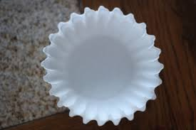 Count Out 8 Coffee Filters This Seems To Be The Perfect Amount Keep Them Looking Full But Not Too Lay Flat