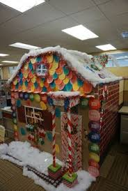 Funny Christmas Cubicle Decorating Ideas by My Office Cubicle For A Contest I Won All Hand Made Was So