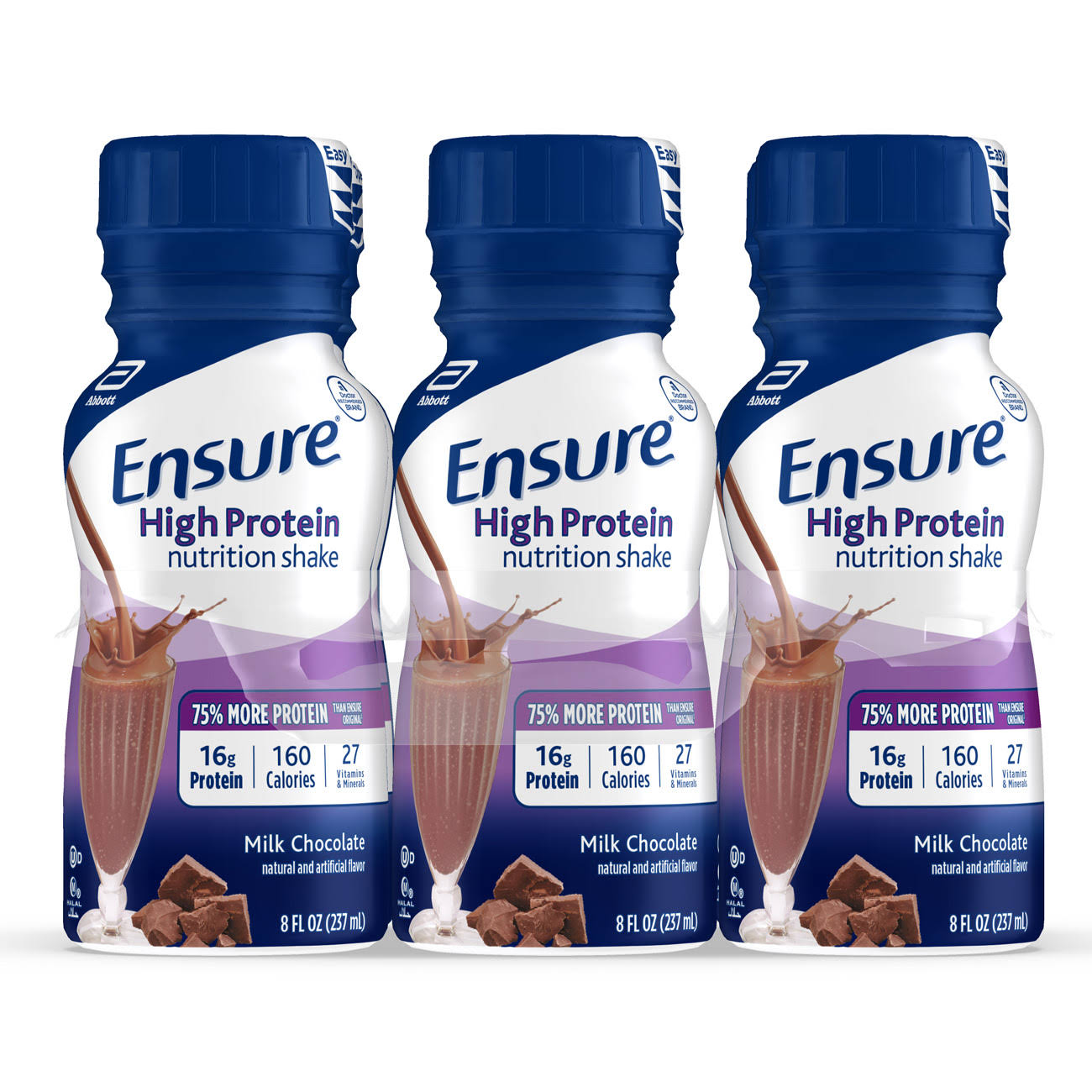 Ensure High Protein Nutrition Shake - Milk Chocolate, 8oz