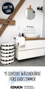 klamotten chaos adé die coolsten wäschekörbe fürs bad